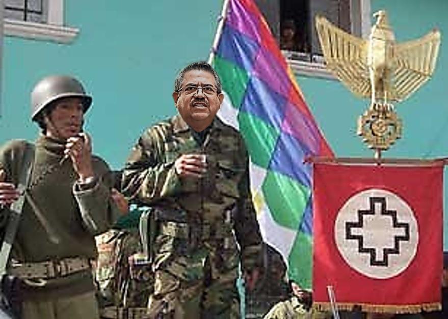 Merino ha llegado muy lejos y no lo hubiera logrado sin el apoyo de y UPP, el partido de Humala. Intervención: Útero.Pe