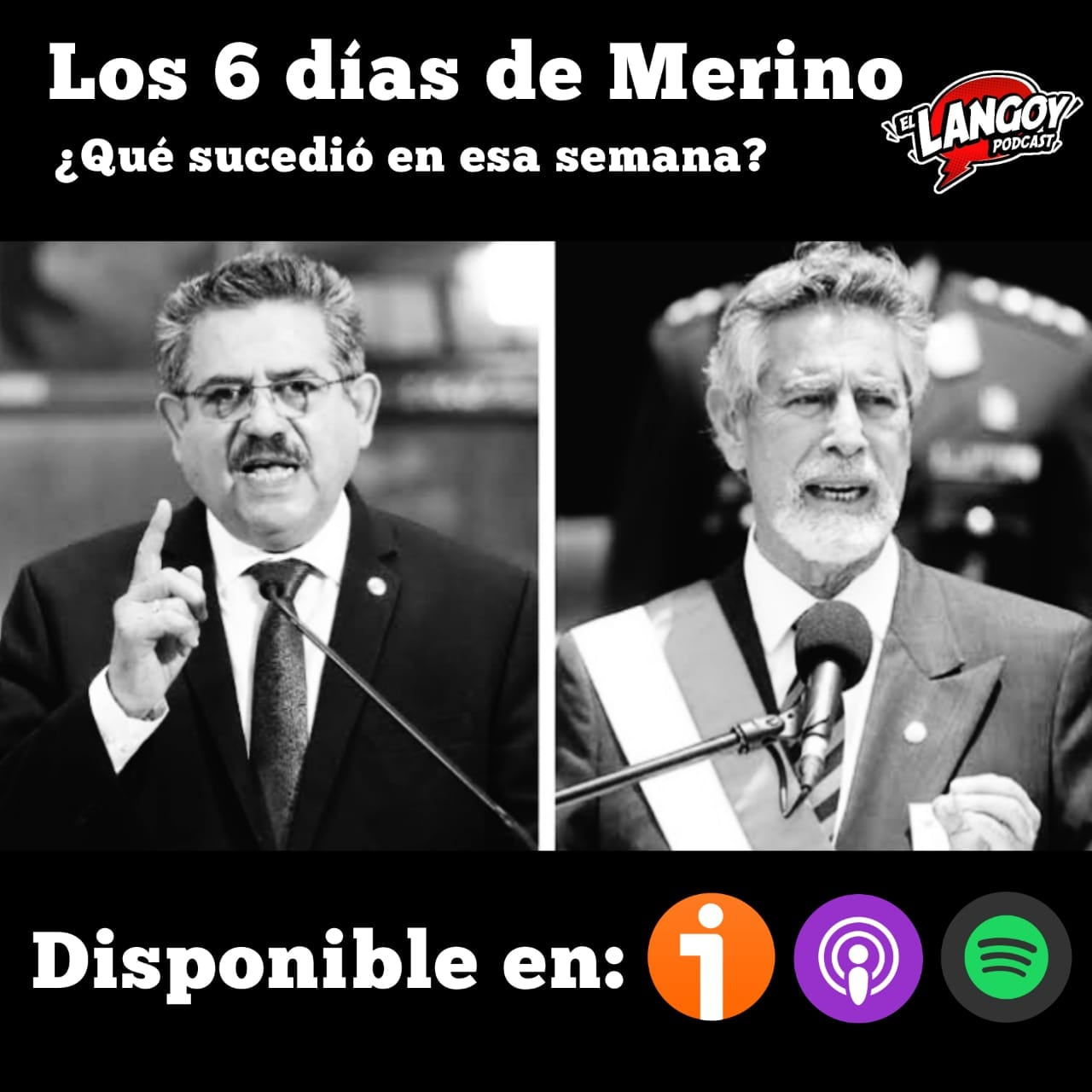 Merino Politica Perú 2020 noviembre podcast lima