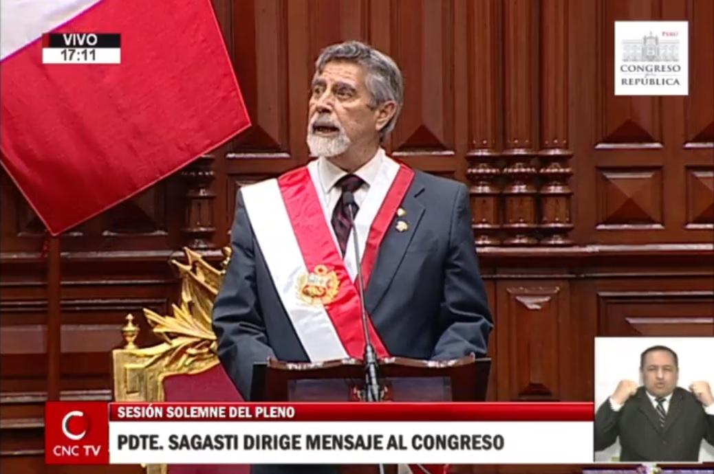 Imagen: Canal del Congreso