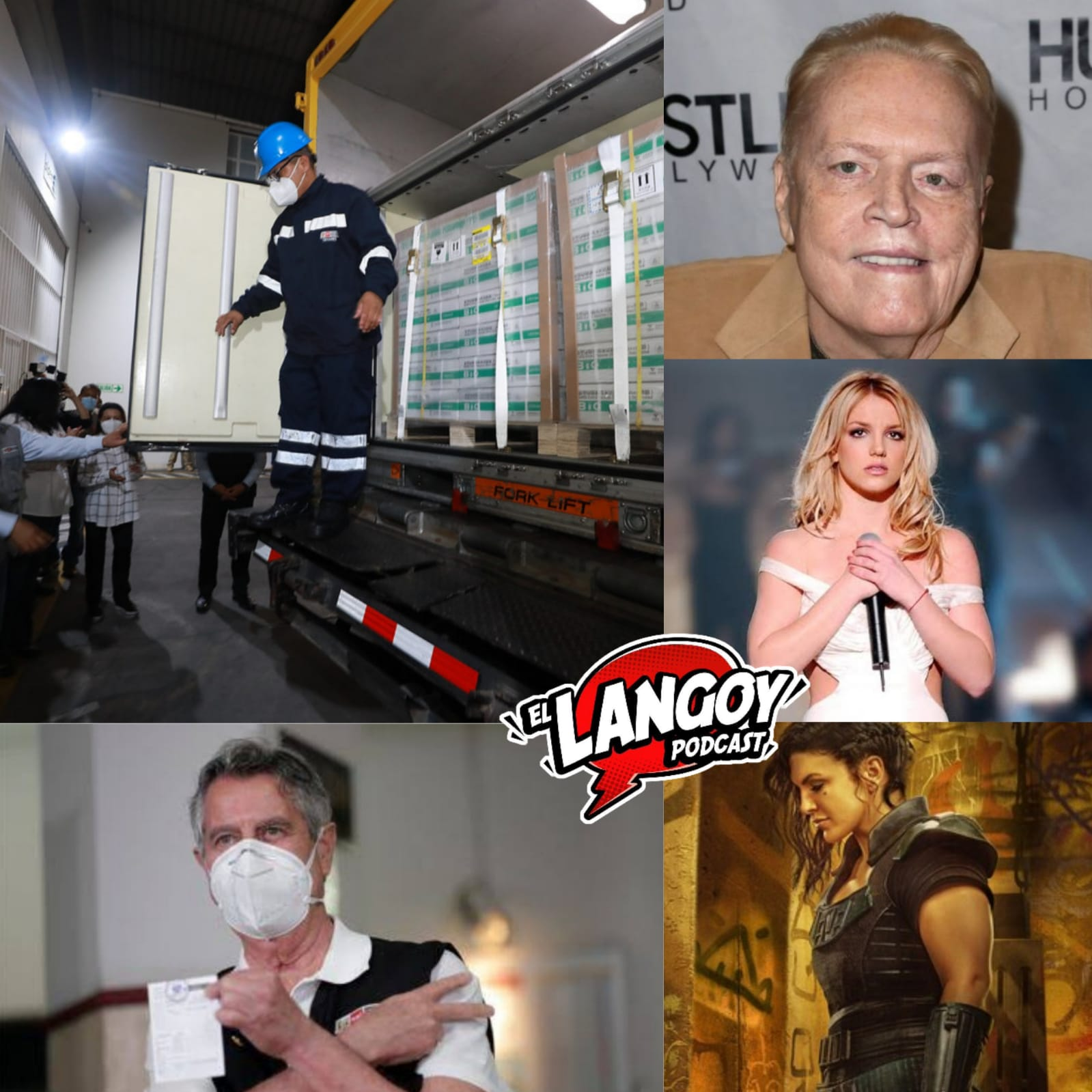 Podcast Vacunas Peru Lima El Langoy Larry Flynt The Last of Us Disney Plus Gobierno Sagasti