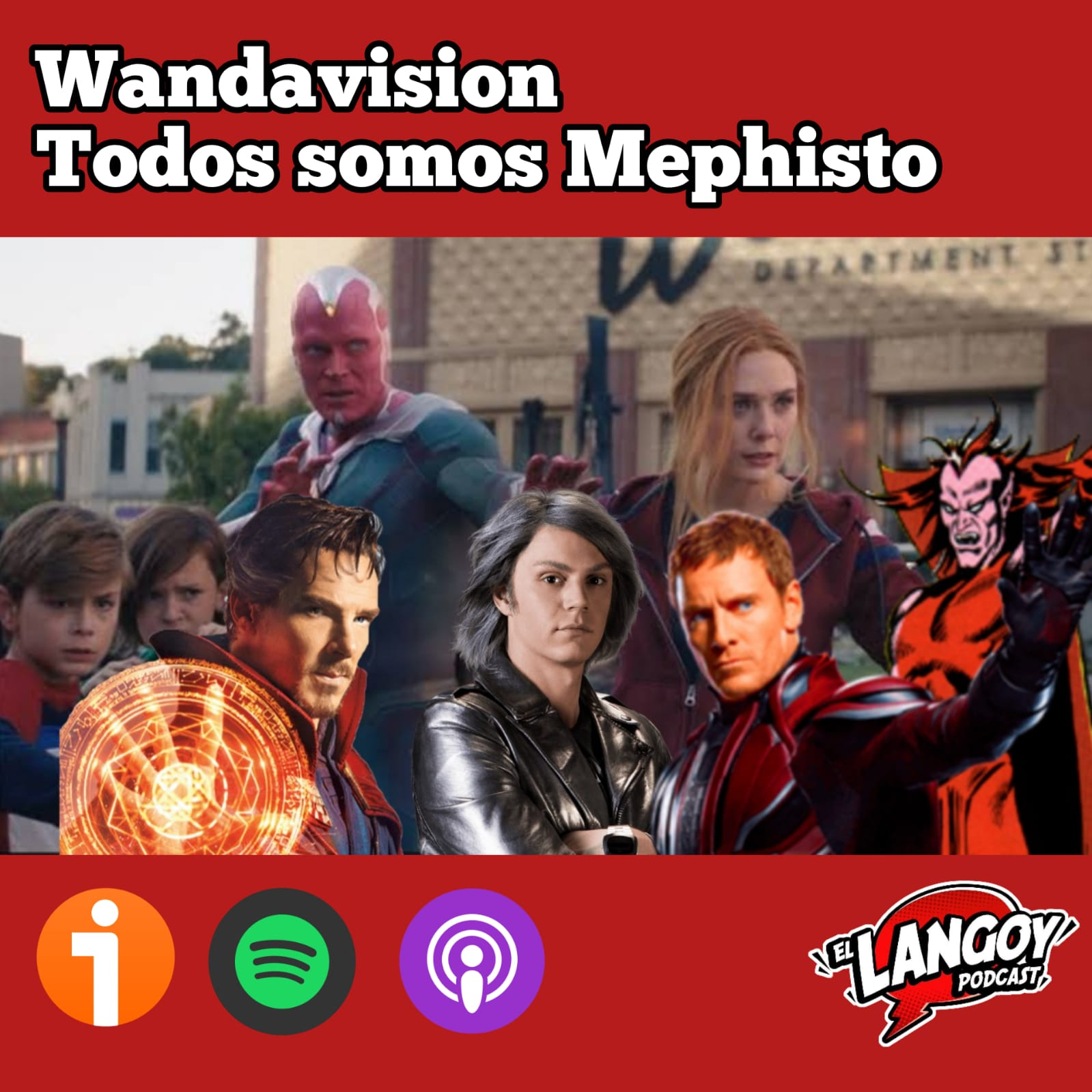 WandaVision Marvel Studios Podcast El Langoy Disney Plus